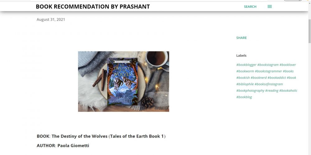 Book Recommendation by Prashant